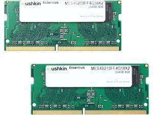 Mushkin Enhanced Essentials 8GB (2 x 4GB) 260-Pin DDR4 SO-DIMM DDR4 2133 (PC4 17000) Laptop Memory Model MES4S213FF4G18X2TBD