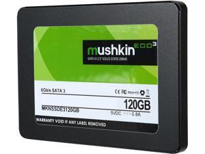 """Mushkin Enhanced ECO3 2.5"""" 120GB SATA III TLC MKNSSDE3120GB"""