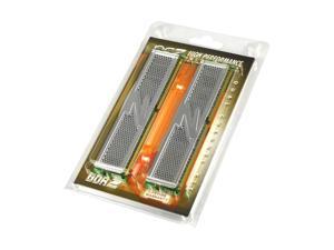 OCZ 4GB (2 x 2GB) 240-Pin DDR2 SDRAM DDR2 800 (PC2 6400) Dual Channel Kit Desktop Memory Model OCZ2P8004GK