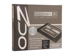 "Manufacturer Recertified OCZ Vertex 3 2.5"" 120GB SATA III MLC Internal Solid State Drive (SSD) VTX3-25SAT3-120G"