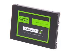 "Manufacturer Recertified OCZ Agility 3 AGT3-25SAT3-120G 2.5"" 120GB SATA III MLC Internal Solid State Drive (SSD)"