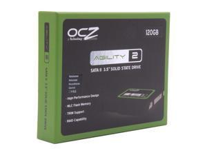 "Manufacturer Recertified OCZ Agility 2 OCZSSD3-2AGT120G 3.5"" 120GB SATA II MLC Internal Solid State Drive (SSD)"