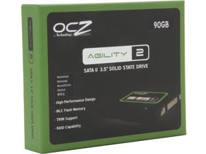 "Manufacturer Recertified OCZ Agility 2 OCZSSD3-2AGT90G.RF 3.5"" 90GB SATA II MLC Internal Solid State Drive (SSD)"