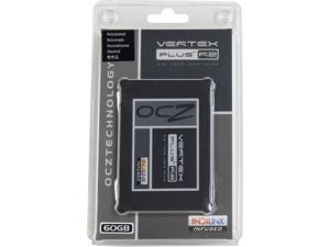 """OCZ Vertex Plus R2 VTXPLR2-25SAT2-60G 2.5"""" 60GB SATA II MLC Internal Solid State Drive (SSD)"""