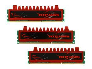 G.SKILL Ripjaws Series 12GB (3 x 4GB) 240-Pin DDR3 SDRAM DDR3 1600 (PC3 12800) Desktop Memory Model F3-12800CL9T-12GBRL