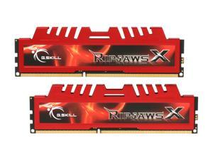 G.SKILL Ripjaws X Series 4GB (2 x 2GB) 240-Pin DDR3 SDRAM DDR3 1600 (PC3 12800) Desktop Memory Model F3-12800CL9D-4GBXL