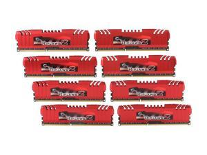 G.SKILL Ripjaws Z Series 32GB (8 x 4GB) 240-Pin DDR3 SDRAM DDR3 1600 (PC3 12800) Desktop Memory Model F3-12800CL9Q2-32GBZL