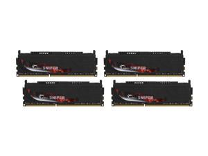 G.SKILL Sniper Gaming Series 16GB (4 x 4GB) 240-Pin DDR3 SDRAM DDR3 2133 (PC3 17000) Desktop Memory Model F3-17000CL9Q-16GBSR