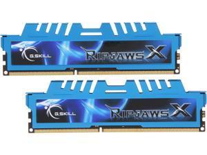 G.SKILL Ripjaws X Series 8GB (2 x 4GB) 240-Pin DDR3 SDRAM DDR3 2400 (PC3 19200) Desktop Memory Model F3-2400C11D-8GXM