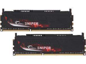 G.SKILL Sniper Series 8GB (2 x 4GB) 240-Pin DDR3 SDRAM DDR3 2400 (PC3 19200) Desktop Memory Model F3-2400C11D-8GSR