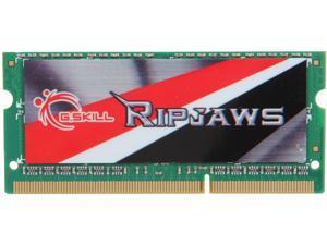 G.SKILL Ripjaws Series 4GB 204-Pin DDR3 SO-DIMM DDR3L 1600 (PC3L 12800) Laptop Memory Model F3-1600C11S-4GRSL