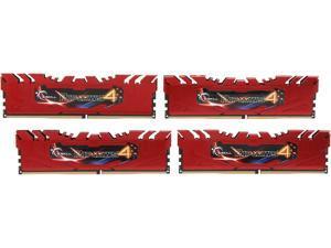 G.SKILL Ripjaws 4 Series 16GB (4 x 4GB) 288-Pin DDR4 SDRAM DDR4 3000 (PC4 24000) Desktop Memory Model F4-3000C15Q-16GRR
