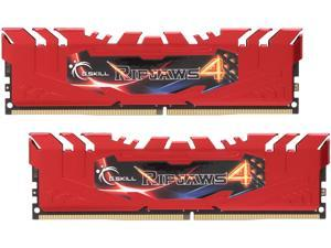 G.SKILL Ripjaws 4 Series 16GB (2 x 8GB) 288-Pin DDR4 SDRAM DDR4 2400 (PC4 19200) Memory Kit Model F4-2400C15D-16GRR