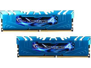 G.SKILL Ripjaws 4 Series 16GB (2 x 8GB) 288-Pin DDR4 SDRAM DDR4 3000 (PC4 24000) Intel X99 Platform Extreme Performance Memory Model F4-3000C15D-16GRBB