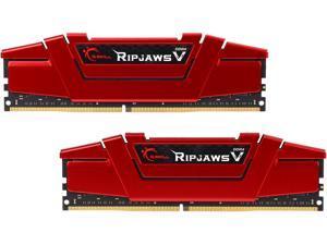 G.SKILL Ripjaws V Series 16GB (2 x 8GB) 288-Pin DDR4 SDRAM DDR4 3000 (PC4 24000) Intel Z170 Desktop Memory Model F4-3000C15D-16GVR