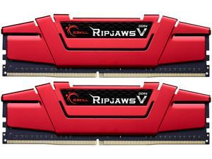 G.SKILL Ripjaws V Series 8GB (2 x 4GB) 288-Pin DDR4 SDRAM DDR4 2400 (PC4 19200) Intel Z170 Platform / Intel X99 Platform Desktop Memory Model F4-2400C15D-8GVR
