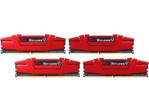 G.SKILL Ripjaws V Series 32GB (4 x 8GB) 288-Pin DDR4 SDRAM DDR4 2666 (PC4 21300) Intel Z170 Platform / Intel X99 Platform Desktop Memory Model F4-2666C15Q-32GVR