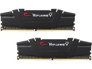 G.SKILL Ripjaws V Series 16GB (2 x 8GB) 288-Pin DDR4 SDRAM DDR4 3200 (PC4 25600) Intel Z170 Platform Desktop Memory Model F4-3200C16D-16GVK
