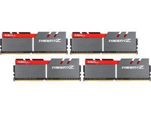 G.SKILL TridentZ Series 32GB (4 x 8GB) 288-Pin DDR4 SDRAM DDR4 3200 (PC4 25600) Intel Z170 Platform / Intel X99 Platform Desktop Memory Model F4-3200C16Q-32GTZB
