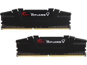 G.SKILL Ripjaws V Series 16GB (2 x 8GB) 288-Pin DDR4 SDRAM DDR4 3200 (PC4 25600) Intel Z170 Platform / Intel X99 Platform Desktop Memory Model F4-3200C16D-16GVKB
