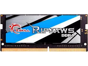 G.SKILL Ripjaws Series 8GB 260-Pin DDR4 SO-DIMM DDR4 2400 (PC4 19200) Extreme Performance Memory Model F4-2400C16S-8GRSB