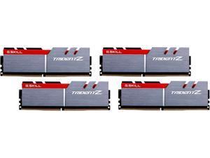 G.SKILL TridentZ Series 32GB (4 x 8GB) 288-Pin DDR4 SDRAM DDR4 3000 (PC4 24000) Desktop Memory Model F4-3000C14Q-32GTZ