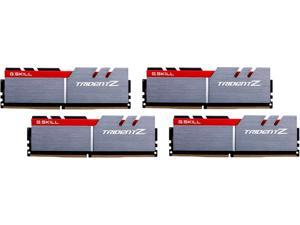 G.SKILL TridentZ Series 32GB (4 x 8GB) 288-Pin DDR4 SDRAM DDR4 3200 (PC4 25600) Desktop Memory Model F4-3200C14Q-32GTZ
