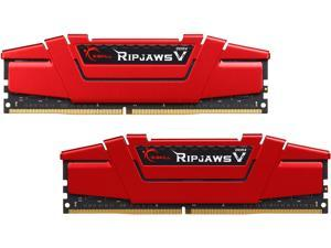 G.SKILL Ripjaws V Series 32GB (2 x 16GB) 288-Pin DDR4 SDRAM DDR4 3200 (PC4 25600) Desktop Memory Model F4-3200C14D-32GVR