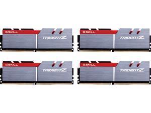 G.SKILL TridentZ Series 64GB (4 x 16GB) 288-Pin DDR4 SDRAM DDR4 3400 (PC4 27200) Intel Z170 Platform Desktop Memory Model F4-3400C16Q-64GTZ