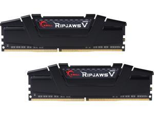 G.SKILL Ripjaws V Series 16GB (2 x 8GB) 288-Pin DDR4 SDRAM DDR4 3000 (PC4 24000) Intel Z170 Platform Memory Kit Model F4-3000C15D-16GVKB