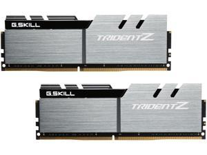 G.SKILL TridentZ Series 16GB (2 x 8GB) 288-Pin DDR4 SDRAM DDR4 3200 (PC4 25600) Intel Z170 Platform Desktop Memory Model F4-3200C16D-16GTZSK