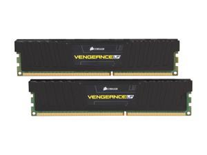 CORSAIR Vengeance LP 4GB (2 x 2GB) 240-Pin DDR3 SDRAM DDR3 1600 (PC3 12800) Low Profile Desktop Memory Model CML4GX3M2A1600C9
