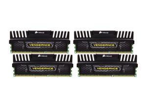 CORSAIR Vengeance 16GB (4 x 4GB) 240-Pin DDR3 SDRAM DDR3 1600 (PC3 12800) Desktop Memory Model CMZ16GX3M4X1600C9