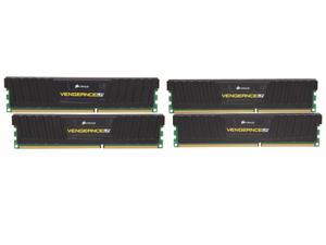 CORSAIR Vengeance LP 16GB (4 x 4GB) 240-Pin DDR3 SDRAM DDR3 1600 Desktop Memory Model CML16GX3M4X1600C8
