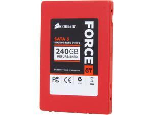 "Corsair Force Series GT CSSD-F240GBGT/RF2 2.5"" MLC Internal Solid State Drive (SSD)"