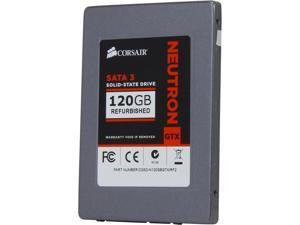 """Manufacturer Recertified Corsair Neutron Series GTX CSSD-N120GBGTX/RF2 2.5"""" 120GB SATA III Internal Solid State Drive (SSD)"""