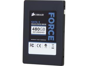 "Manufacturer Recertified Corsair Force Series 3 CSSD-F480GB3/RF2 2.5"" 480GB SATA III Internal Solid State Drive (SSD)"