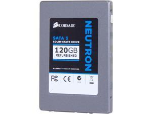 "Manufacturer Recertified Corsair Neutron Series CSSD-N120GB3/RF2 2.5"" 120GB SATA III Internal Solid State Drive (SSD)"