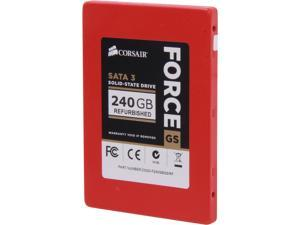 "Corsair Force Series GS CSSD-F240GBGS/RF 2.5"" Internal Solid State Drive (SSD)"