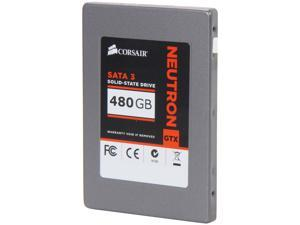"Corsair Neutron Series GTX 2.5"" 480GB SATA III MLC Internal Solid State Drive (SSD) CSSD-N480GBGTXB-BK"