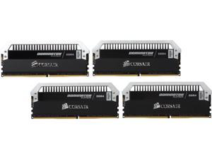 CORSAIR Dominator Platinum 16GB (4 x 4GB) 288-Pin DDR4 SDRAM DDR4 3000 (PC4 24000) Desktop Memory Model CMD16GX4M4B3000C15