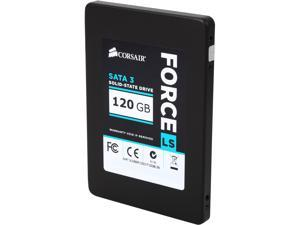 "Corsair Force LS 2.5"" 120GB SATA III MLC Internal Solid State Drive (SSD) CSSD-F120GBLSB"