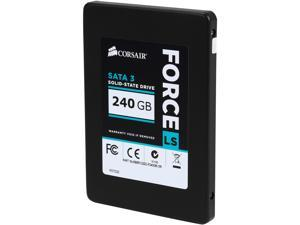"Corsair Force LS 2.5"" 240GB SATA III MLC Internal Solid State Drive (SSD) CSSD-F240GBLSB"