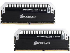 CORSAIR Dominator Platinum 8GB (2 x 4GB) 288-Pin DDR4 SDRAM DDR4 3000 (PC4 24000) Memory Kit Model CMD8GX4M2B3000C15