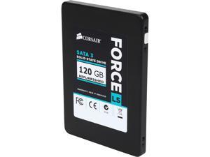 "Corsair Force LS 2.5"" 120GB SATA III MLC Internal Solid State Drive (SSD) CSSD-F120GBLSB/RF2 - Certified Refurbished"