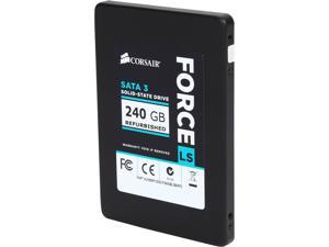 "Corsair Force LS 2.5"" 240GB SATA III MLC Internal Solid State Drive (SSD) CSSD-F240GBLSB/RF2"