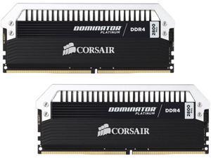 CORSAIR Dominator Platinum 32GB (2 x 16GB) 288-Pin DDR4 SDRAM DDR4 2800 (PC4 22400) Memory Kit Model CMD32GX4M2A2800C16