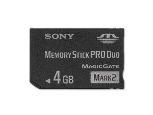 SONY 4GB Memory Stick Pro Duo (MS Pro Duo) Flash Card Model MSMT4G