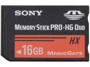 SONY 16GB Memory Stick PRO-HG Duo Flash Card Model MSHX16A