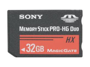 SONY 32GB Memory Stick PRO-HG Duo Flash Card Model MSHX32A